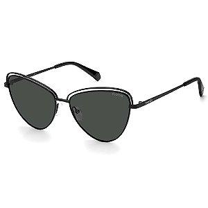 Óculos de Sol Polaroid PLD 4094/S / 57 - Preto - Polarizado