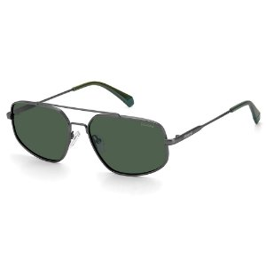 Óculos de Sol Polaroid PLD 2112/S / 58 - Cinza - Polarizado