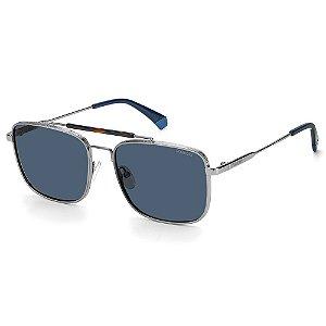 Óculos de Sol Polaroid PLD 2111/S / 57 - Cinza - Polarizado