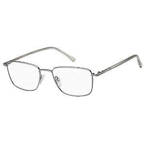 Armação para Óculos Pierre Cardin P.C. 6872 6LB / 55 - Cinza