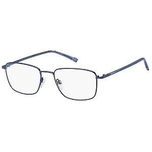 Armação para Óculos Pierre Cardin P.C. 6872 FLL / 55 - Azul