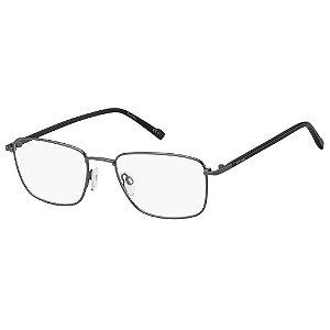 Armação para Óculos Pierre Cardin P.C. 6872 R80 / 55 - Cinza