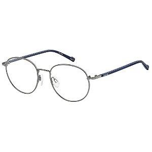 Armação para Óculos Pierre Cardin P.C. 6859 KJ1 / 50 - Cinza