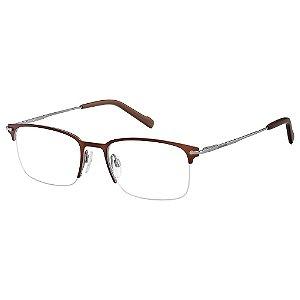 Armação para Óculos Pierre Cardin P.C 6858 09Q / 53 - Marrom