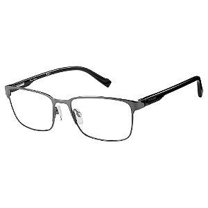 Armação para Óculos Pierre Cardin P.C. 6854 KJ1 / 56 - Cinza