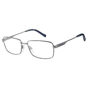 Armação para Óculos Pierre Cardin P.C. 6850 R80 / 57 - Cinza