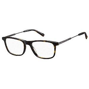 Armação para Óculos Pierre Cardin P.C 6228 086 / 55 - Marrom