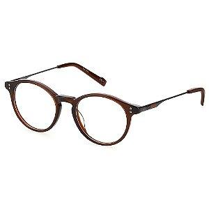 Armação para Óculos Pierre Cardin P.C 6222 09Q / 48 - Marrom