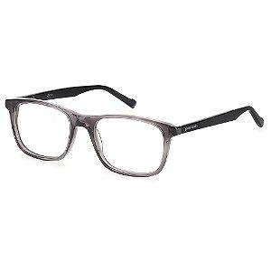 Armação para Óculos Pierre Cardin P.C. 6221 KB7 / 52 - Cinza