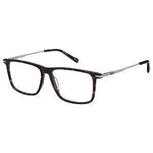 Armação para Óculos Pierre Cardin P.C 6218 086 / 56 - Marrom