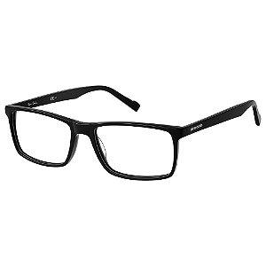 Armação para Óculos Pierre Cardin P.C. 6216 807 / 58 - Preto