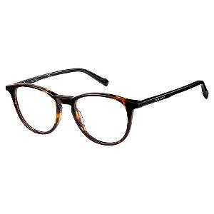 Armação para Óculos Pierre Cardin P.C 6206 086 / 49 - Marrom