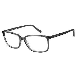 Armação para Óculos Pierre Cardin P.C. 6201 KB7 / 56 - Cinza