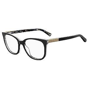 Armação para Óculos Moschino Love MOL564 807 / 53 - Preto