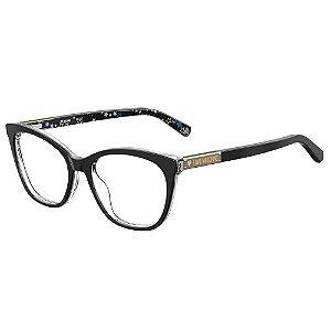 Armação para Óculos Moschino Love MOL563 FWM / 52 - Preto
