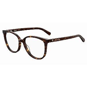 Armação para Óculos Moschino Love MOL558 086 / 54 - Marrom