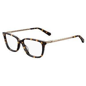 Armação para Óculos Moschino Love MOL550 086 / 54 - Marrom