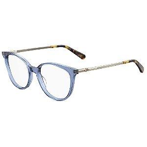 Armação para Óculos Moschino Love MOL549 PJP / 51 - Azul