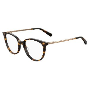Armação para Óculos Moschino Love MOL549 086 / 51 - Marrom