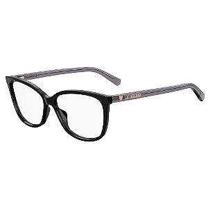 Armação para Óculos Moschino Love MOL546 807 / 55 - Preto