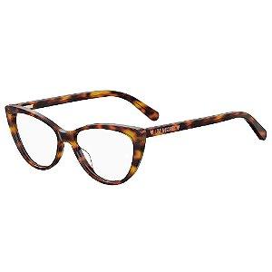 Armação para Óculos Moschino Love MOL539 086 / 52 - Marrom