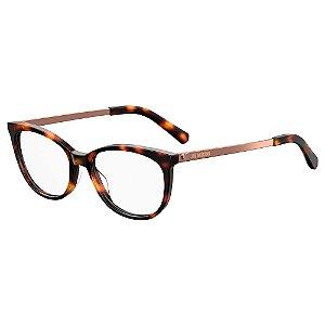 Armação para Óculos Moschino Love MOL534 086 / 52 - Marrom