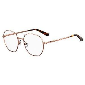 Armação para Óculos Moschino Love MOL532 086 / 52 - Marrom