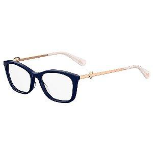 Armação para Óculos Moschino Love MOL528 PJP / 52 - Azul