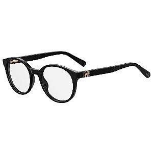 Armação para Óculos Moschino Love MOL523 807 / 49 - Preto