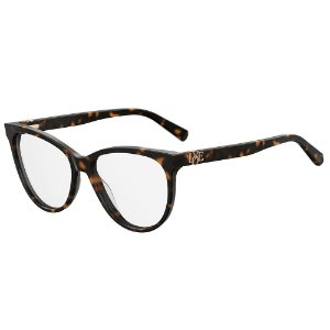 Armação para Óculos Moschino Love MOL521 086 / 55 - Marrom