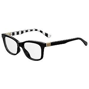 Armação para Óculos Moschino Love MOL515 807 / 52 - Preto