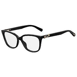 Armação para Óculos Moschino Love MOL513 807 / 55 - Preto