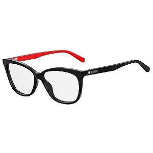 Armação para Óculos Moschino Love MOL506 807 / 56 - Preto