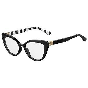 Armação para Óculos Moschino Love MOL500 807 / 54 - Preto