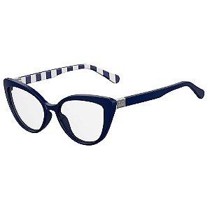 Armação para Óculos Moschino Love MOL500 PJP / 54 - Azul