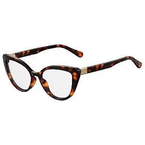 Armação para Óculos Moschino Love MOL500 086 / 54 - Marrom