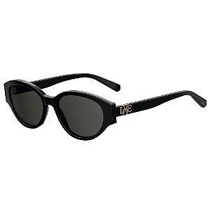 Óculos de Sol Moschino Love MOL014/G/S 807 55IR / 55 - Preto