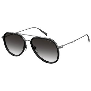 Óculos de Sol Levis LV 5000/S KJ1 569O / 56 - Preto