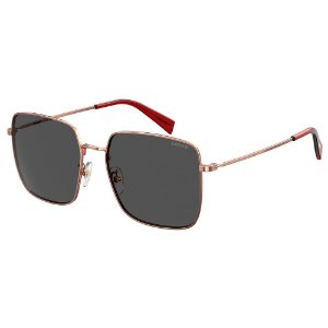 Óculos de Sol Levis LV 1007/S DDB 56IR / 56 - Dourado