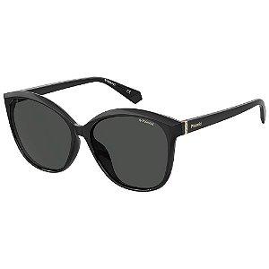 Óculos de Sol Polaroid Pld 4100/F/S 807 Polarizado - Preto