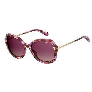 Óculos de Sol Polaroid Pld 4068/S YDC Polarizado - Vinho