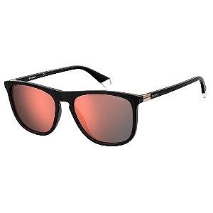 Óculos de Sol Polaroid Pld 2092/S 807 Polarizado - 56 Preto
