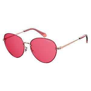Óculos de Sol Polaroid Pld 4090/S EYR Polarizado - Dourado