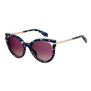 Óculos de Sol Polaroid Pld 4067/S JBW Polarizado - Azul