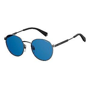 Óculos de Sol Polaroid Pld 2053/S PJP Polarizado - 51 Azul