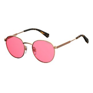 Óculos de Sol Polaroid Pld 2053/S 35J Polarizado - 51 Rosa