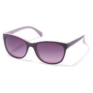 Óculos de Sol Polaroid P8339 C6T - 55 Vinho - Polarizado
