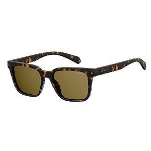 Óculos de Sol Polaroid Pld 6044/S 086 Polarizado - 52 Marrom