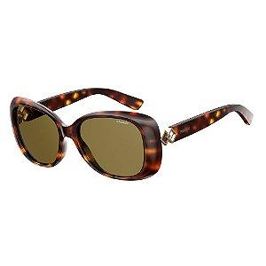Óculos de Sol Polaroid Pld 4051/S 086 Polarizado - Marrom