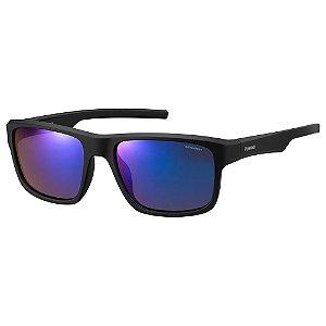 Óculos de Sol Polaroid Pld 3018/S DL5 Polarizado - Preto